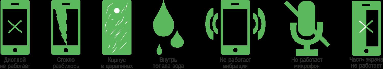 Экспресс ремонт сотовых телефонов